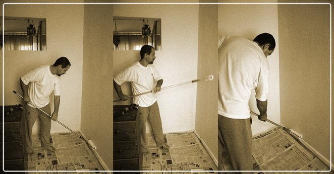 Odamızı boyadık