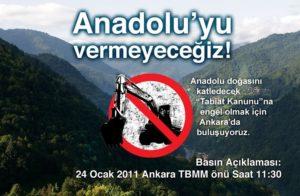 Anadolu Meclis Önünde Buluşuyor