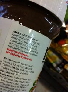 Tahin – Pekmez VS Nutella